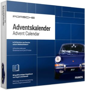 Porsche Adventskalender Männer