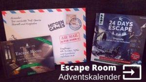 Escape Room Adventskalender im Vergleich