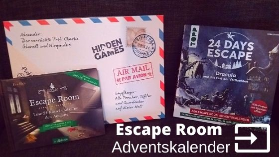 Escape Room Adventskalender 2020 & 2021