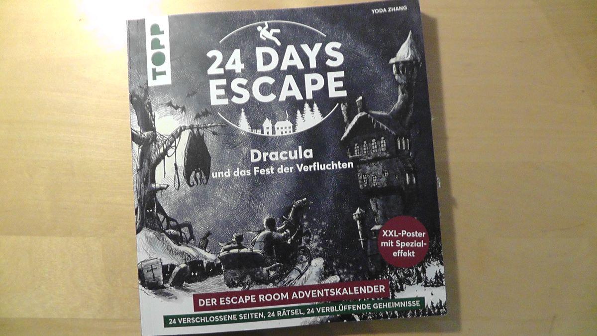 Frontansicht 24 Days Escape Adventskalender