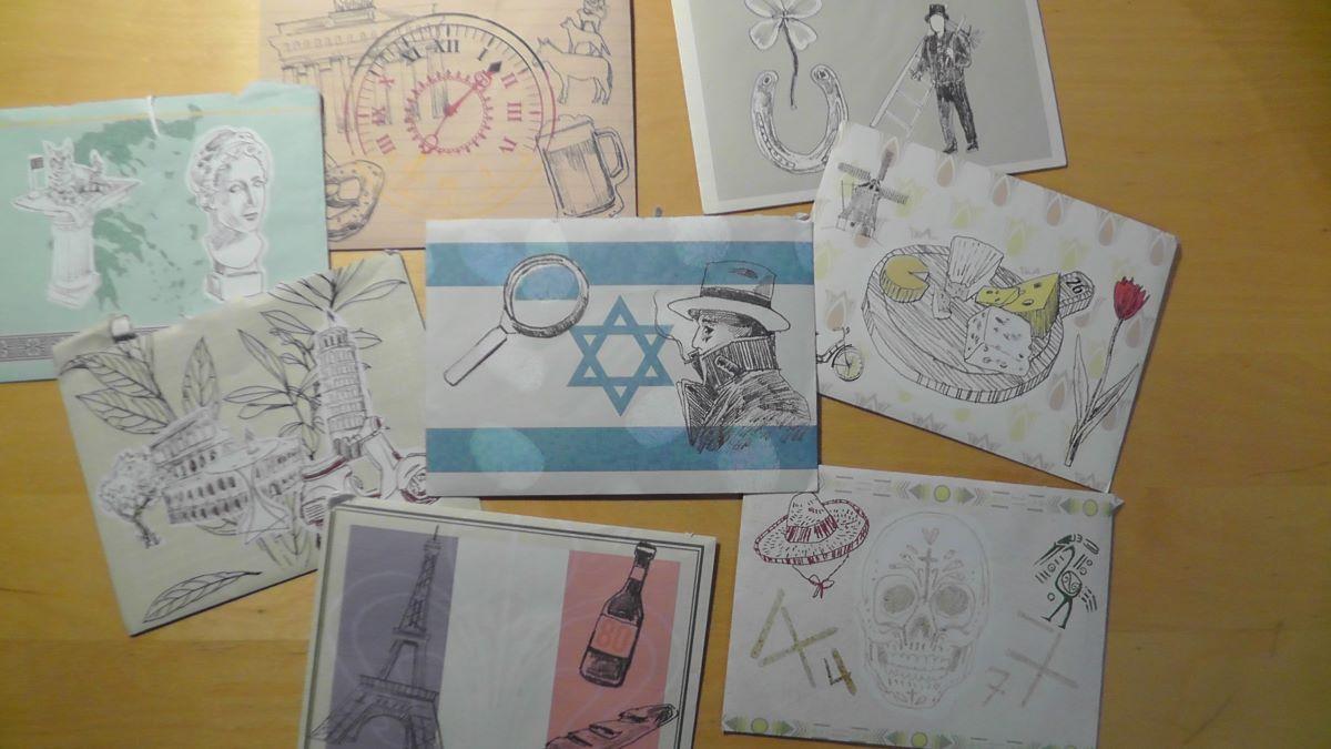 Knobeln und kombinieren für den richtigen Briefumschlag