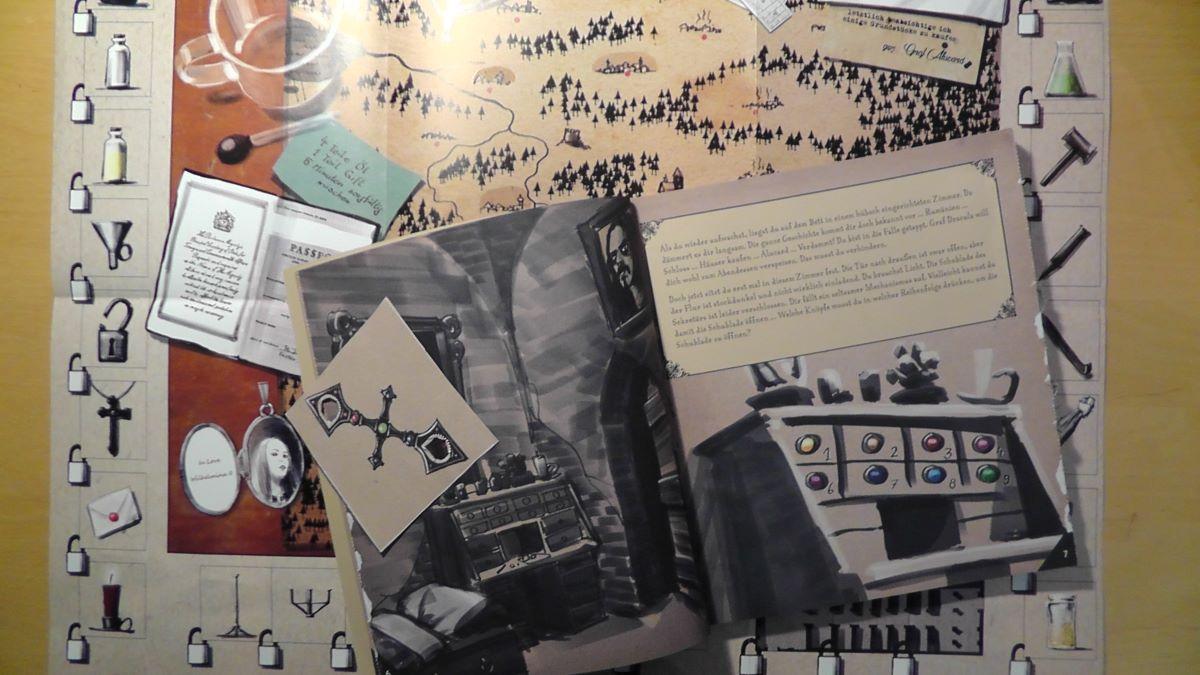 Materialien dieses Escape Room Adventskalenders